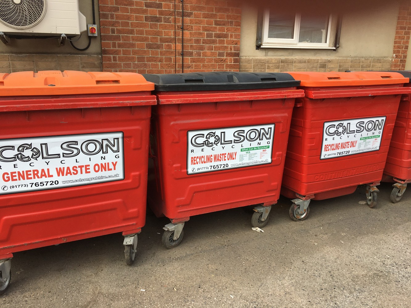 Colson Sadlers Waste - commercial waste containers