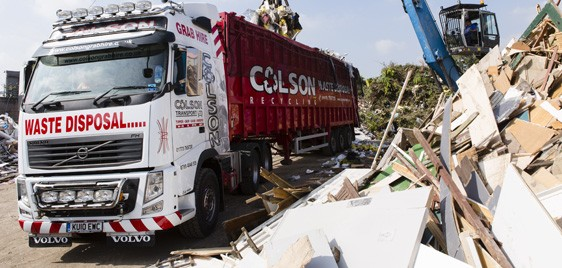 Colson Sadlers Waste - waste removal grab hire services