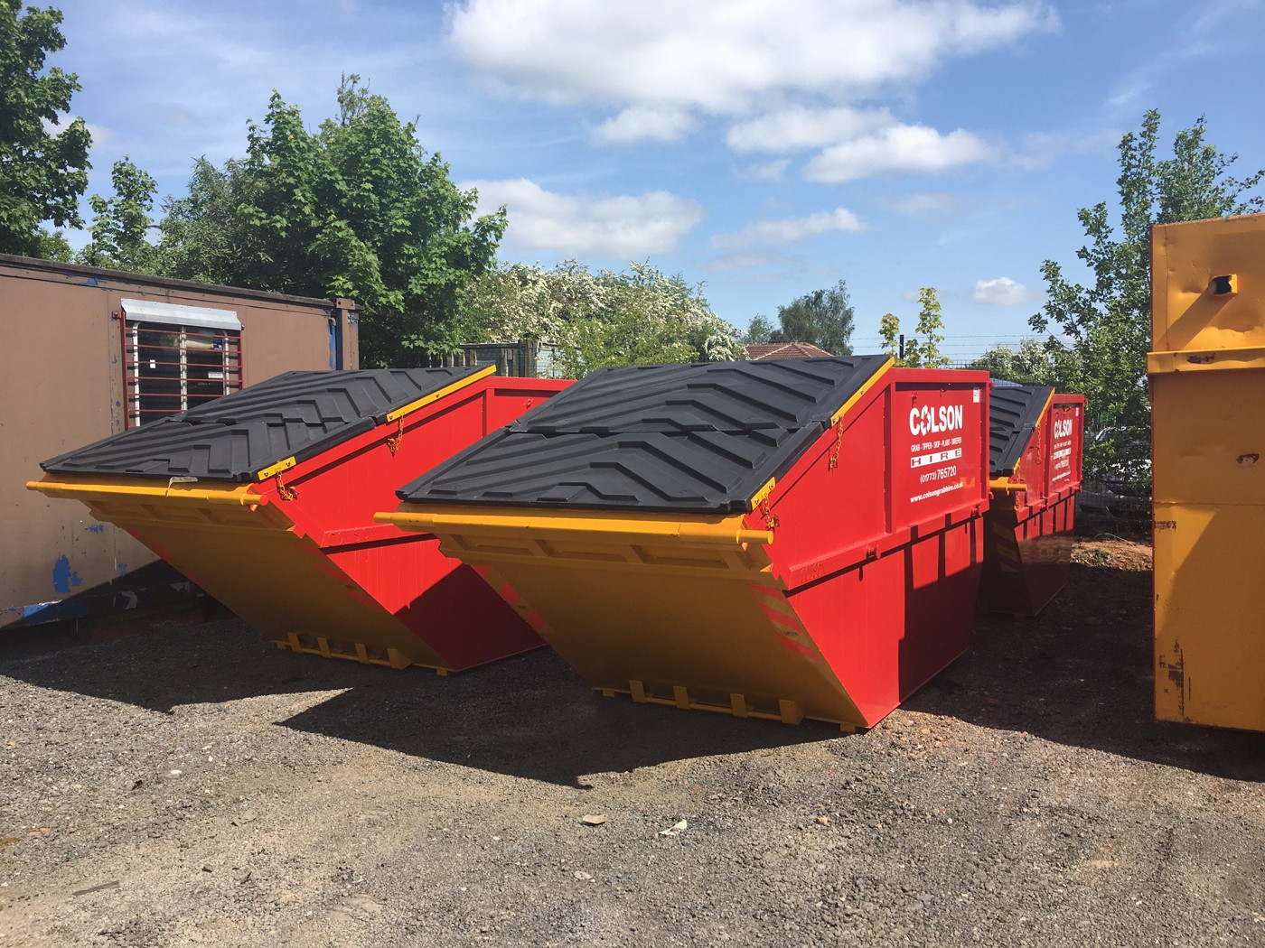 commercial skip hire nottingham and derby