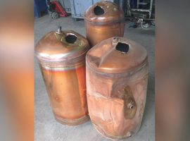 Copper Cylinders