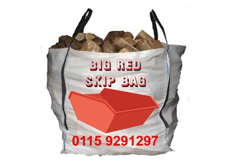 colson transport big red skip bag
