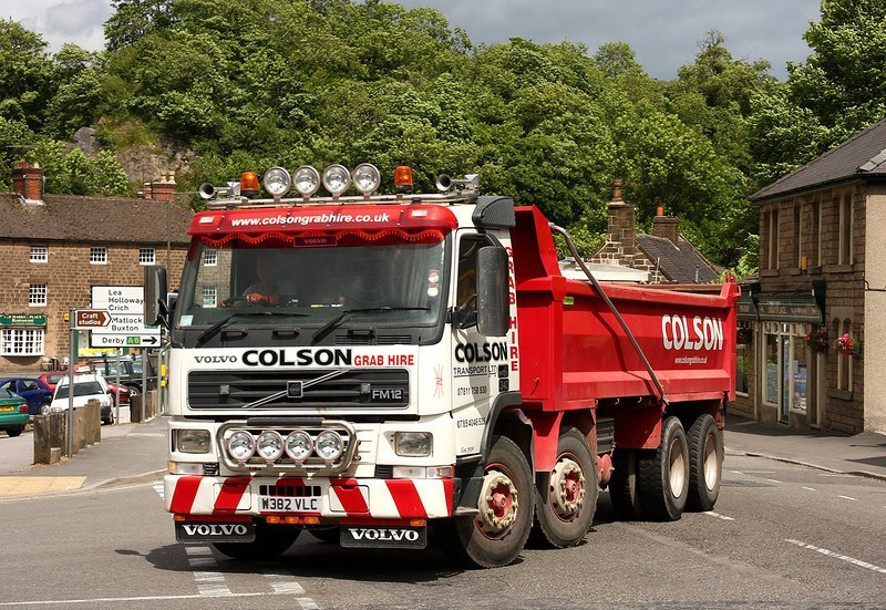 tipper hire truck derby colson sadlers waste