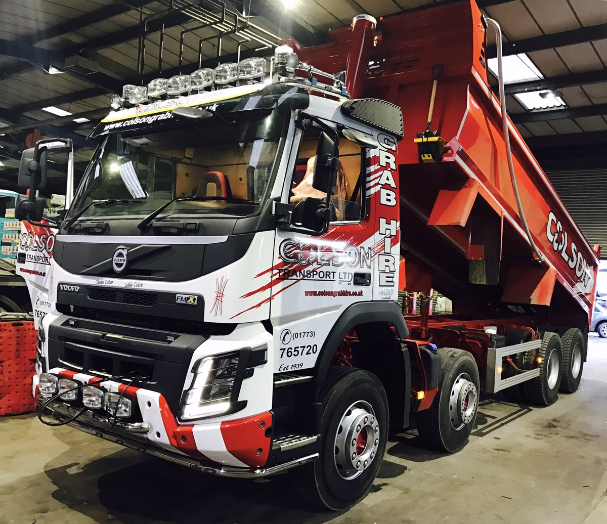 colson sadlers waste tipper hire nottingham leicester derby