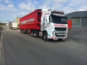 commercial waste lorry nottingham derby leicester