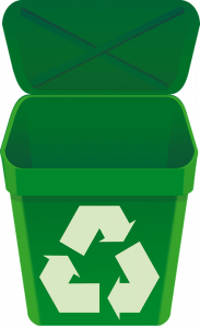recycling bin for commercial waste nottingham derby leicester