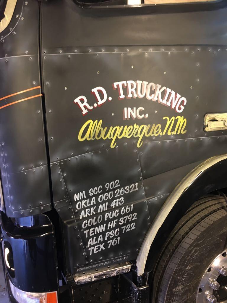 Colson Transport convoy truck r.d trucking albuquerque