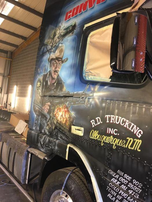 colson transport convoy grab truck