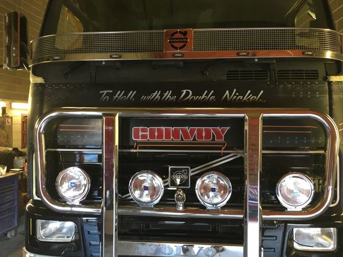 colson convoy truck front