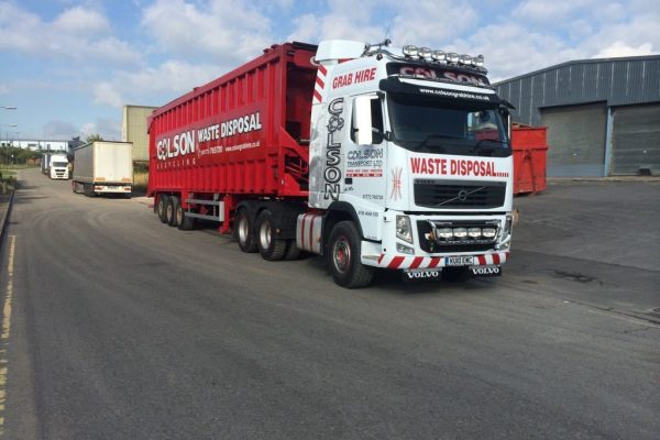 tipper hire Dronfield